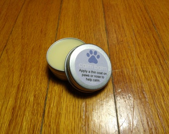 All Natural Calm Balm For Dogs Travel Size - Lavender Essential Oil