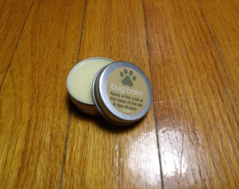 All Natural Bug Paw Balm For Dogs Travel Size -  Citronella Oil