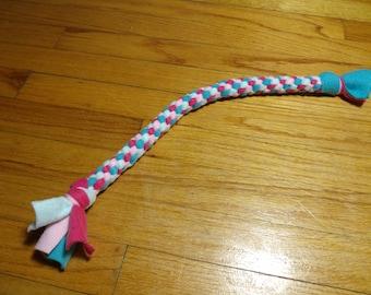 All Fleece Medium Rope Dog Toy  Circus