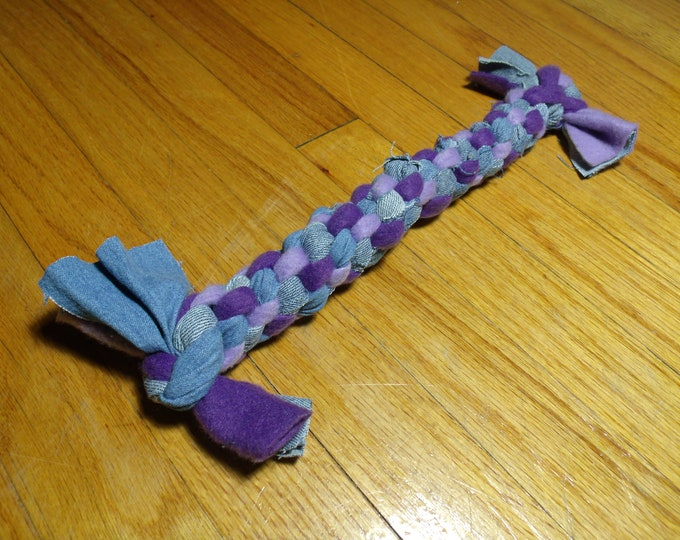 Featured listing image: Rope Dog Toy Large  Violet & Purple   Durable
