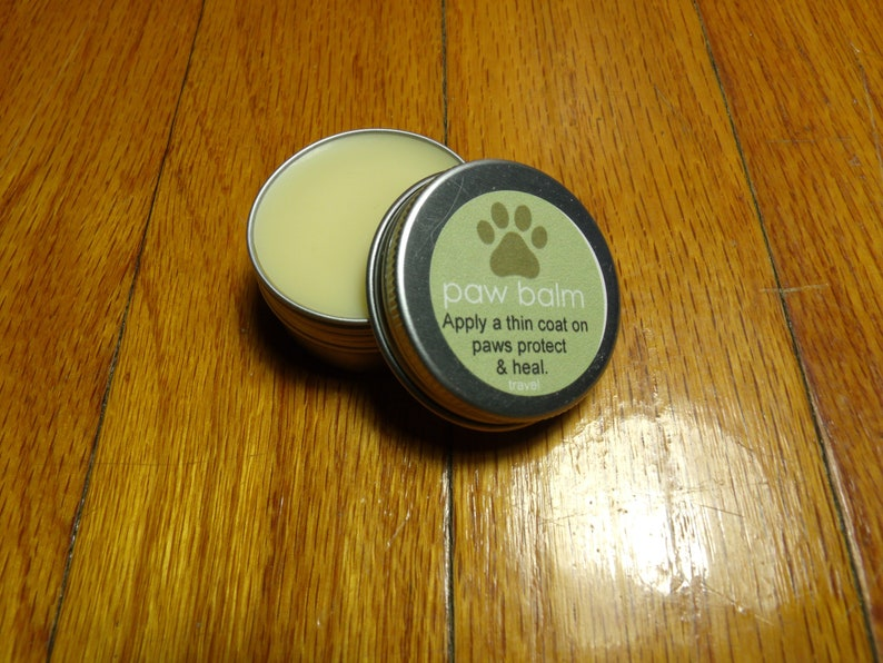All Natural Dog Paw Balm Travel Size image 0