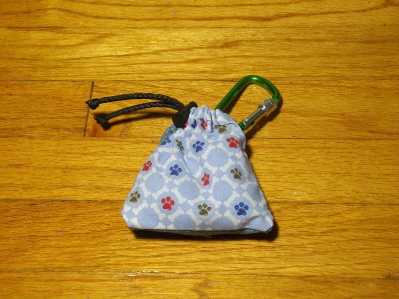 Poop Bag Dispenser Bones & Paws w/Biodegradable Bags image 0