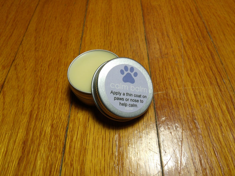 All Natural Calm Balm For Dogs Travel Size  Lavender image 0