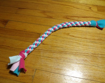 Knotted Fleece Tug Toy For Small/Medium Dog Circus