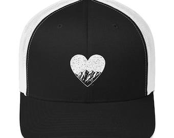 mountain love - trucker cap