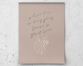 Great Love Fine Art Print 8x10