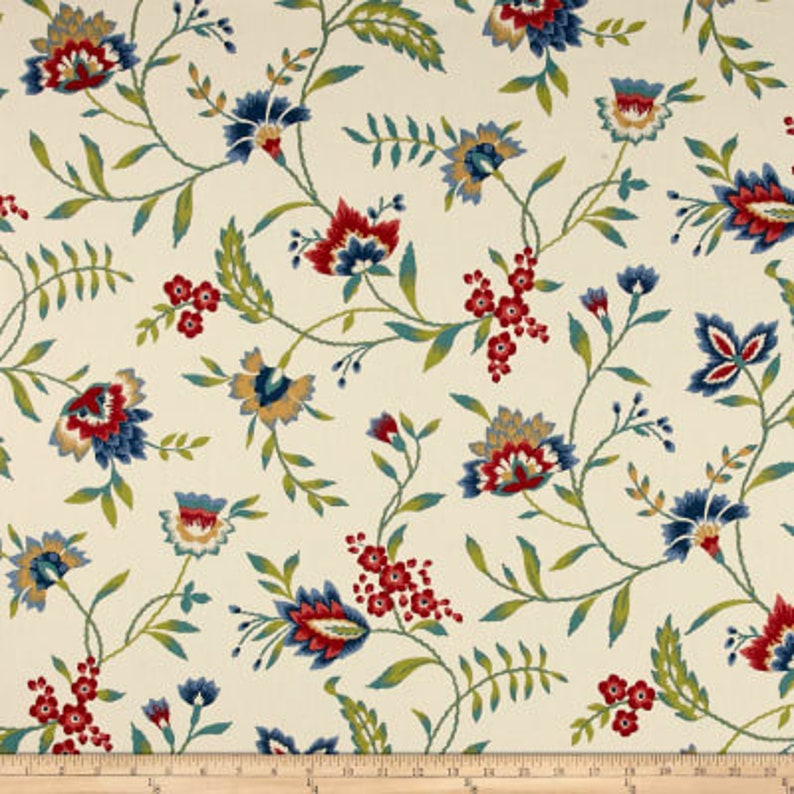 Bathroom Flowers And Leaves Made To Order Bedroom Waverly Carolina Crewel Valance for Kitchen