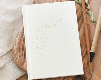 Gold Starry 2022 Diary
