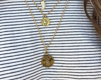 Bette: Set of 2 Coin Necklaces
