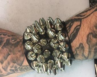Slasher punk cuff