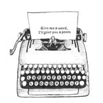 Personalized Typewriter Poetry