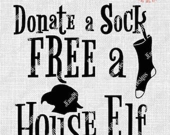 free house elf etsy rh etsy com free the house elves pin free house elves sign