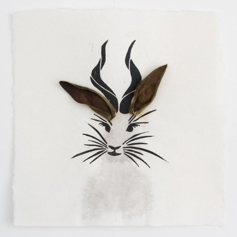 Western Jackalope aka Horns of a Rabbit image 1