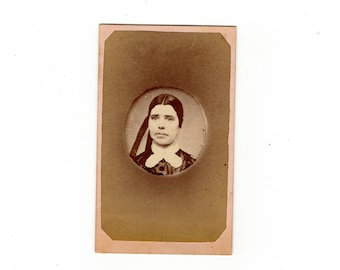 Antique cdv copy of ambro or dag