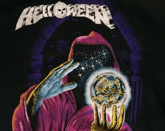 Vintage 1987 Helloween Keeper of the Seven Keys sweatshirt