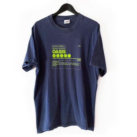 Original Oasis tour t shirt size XL indie britpop
