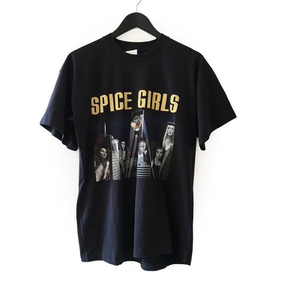 Original 1998 Spice Girls Vintage European tour t