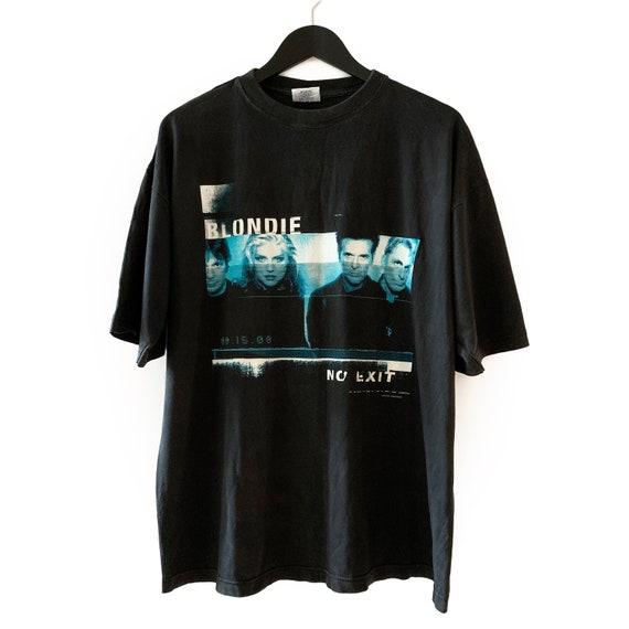 Original Vintage Blondie 1998 No Exit Tour t shirt