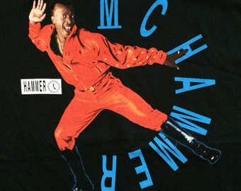 Original dead stock 1991 MC Hammer t shirt
