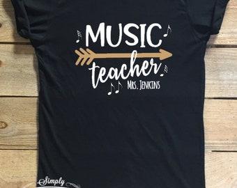 289f6e14 Music, team shirt,math, Music team, teacher team, teacher shirt, teacher  gift, gift idea, teacher, custom shirt