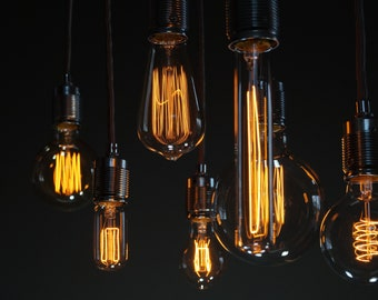 "Vintage pendant lamp ""7lights_pure"" incl. Bulbs"