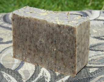 Dog and Puppy Bar Soap Diatomaceous Earth Natural Flea Tick Rosemary Lavender Coconut Oil Microdermabrasion