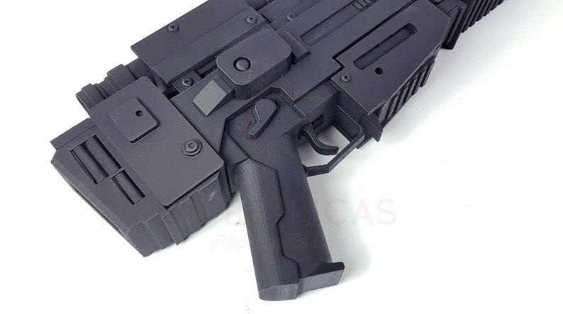 Star Wars EL-16 HFE Finn Blaster Cosplay Rifle Gun Prop Replica Force Awakens