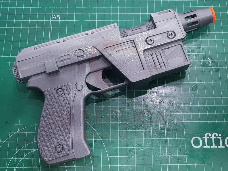 Star Wars Glie-44 Leia Organa Blaster Pistol Cosplay Prop Replica Gun Last Jedi