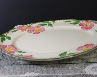 Franciscan Platter Desert Rose Platter FREE SHIPPING Vintage Franciscan Desert Rose Platter 14 Medium Serving Platter Vintage Platter