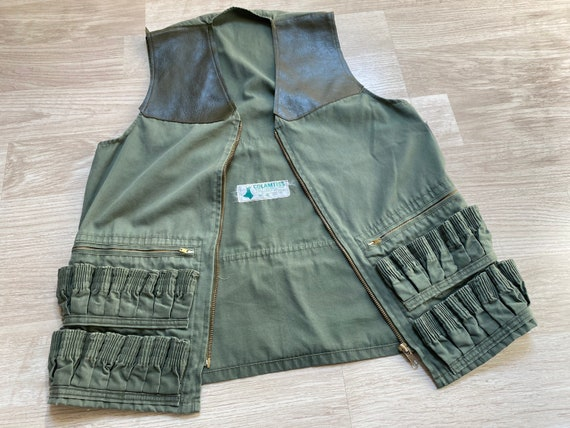 70s French Hunting Vest by COLAMTISS Vintage Outdo