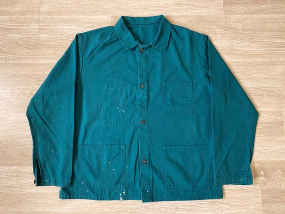 "Pit24"" - French Green Work Jacket"