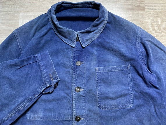 Vintage 60s FRENCH SNC St.James Work Chore Jacket