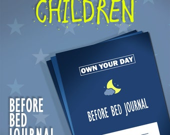 Kids Before Bed Journal Templates