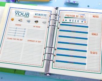 2018 OYD Kids Planner/Journal Printables (BOYS)