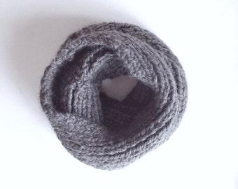 Scaldacollo lavorato a maglia, Sciarpa Alapca, Regali per Lei, Scaldacollo donna 100% Baby Alpaca