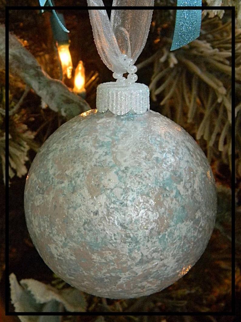 Beach Christmas Ornaments Christmas Tree Ornaments Hand Painted Christmas Ornaments Glass Ornaments Glitter Ornaments Christmas Bulbs