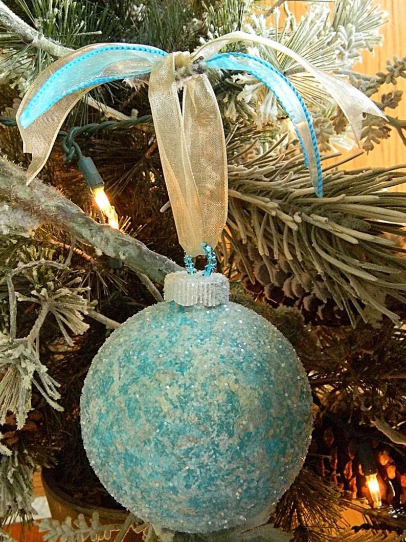 Beach Christmas Ornaments Coastal Christmas Ornaments Hand Painted Ornaments Christmas Bulbs Glass Christmas Balls Beach Decor Coastal