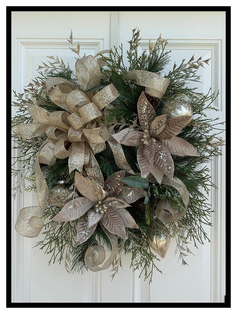 Christmas Wreaths.Luxury Christmas Wreath For Front Door Wreath Victorian Christmas Wreaths Holiday Wreaths Elegant Wreath Christmas Decor