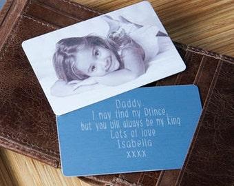 Personalised Photo Wallet Keepsake