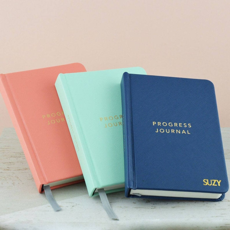 Personalised Pocket Progress Journal-Journal for Progress-Personalised  pocket notebook-Personalised Progress Journal