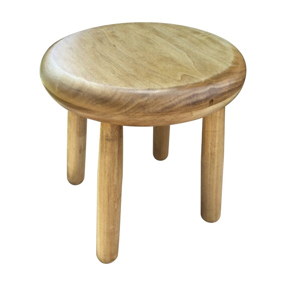 Admirable Small Wood Four Legged Stool Modern Plant Stand In Honey Finish By Candlewood Furniture Wooden Tea Table Kids Chair Decorative Creativecarmelina Interior Chair Design Creativecarmelinacom