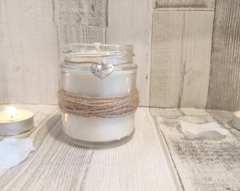 Rustic Big Sister Scented Candle Gift