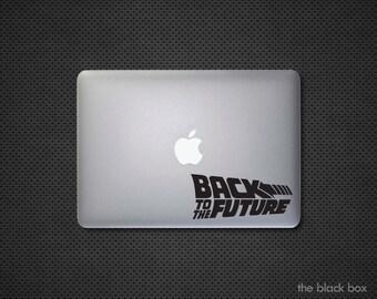 watch ec757 07ccf Back to the future Macbook decal - Macbook sticker