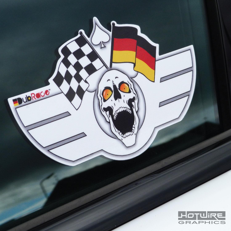 dubrace club car sticker vag vw audi german wings etsy. Black Bedroom Furniture Sets. Home Design Ideas