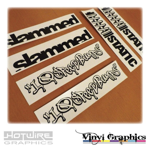 vinyl auto aufkleber sticker pack jdm verlottert grafik. Black Bedroom Furniture Sets. Home Design Ideas