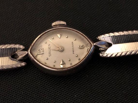 1930s Gold Filled Women's Gruen Precision Wristwat