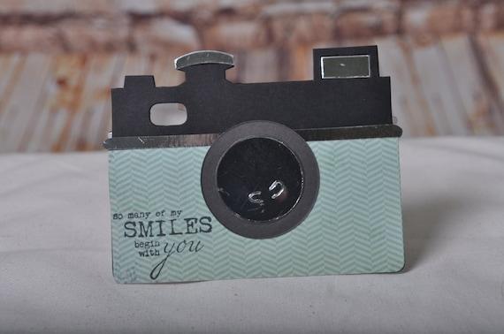 Camera Photographer Vintage Birthday Card Etsy