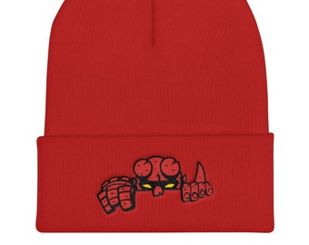 6e45381acece4 Hell Was Here beanie