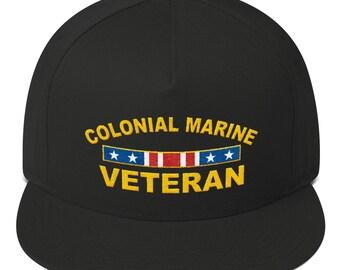 38898a997f3 Colonial Marine Veteran snapback hat