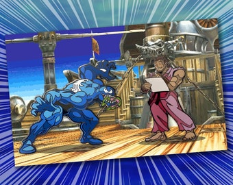 Mvc2 training stage display stand